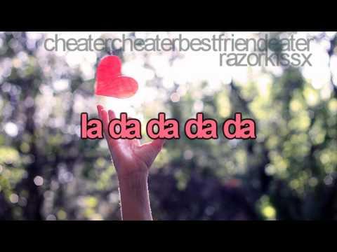 cheatercheaterbestfriendeater, nevershoutnever - lyrics.