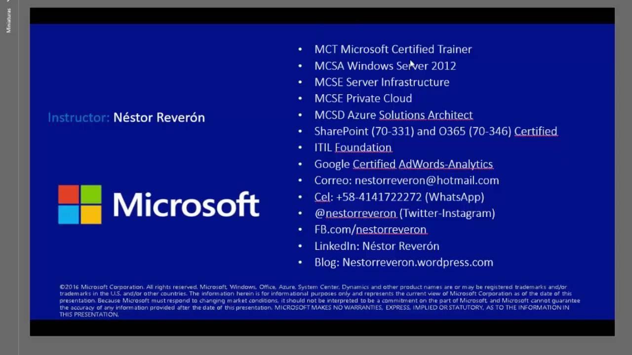 Virtualización anidada (Nested Virtualization) Windows Server 2016 +  Hyper-V sobre Hyper-V 2012 R2