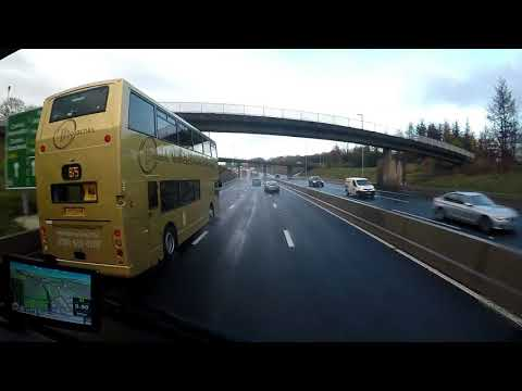 HGV Vlogging. Up the hill and fight the chill