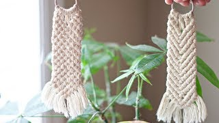 How To: DIY Macrame Keychain