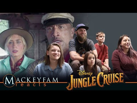Official Trailer: Disney's Jungle Cruise- REACTION and REVIEW!!!