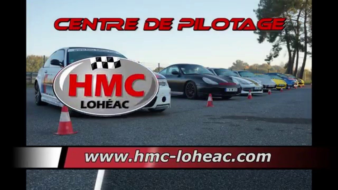 hmc loheac vu du ciel sur le circuit de loh ac youtube. Black Bedroom Furniture Sets. Home Design Ideas