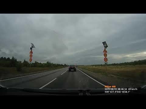 Волгоград - Саратов. 3 серия. Горный Балыклей - Камышин. Трасса Р-228. Плотный трафик.))
