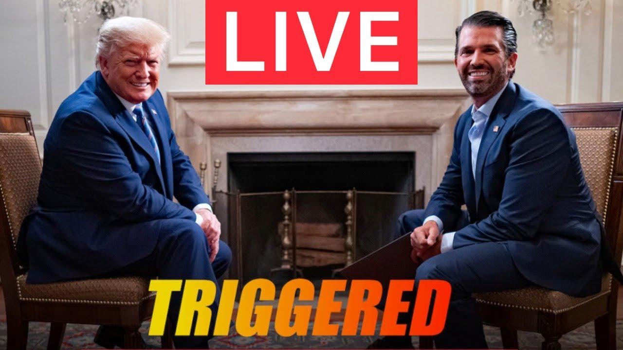 ? LIVE EXCLUSIVE: Donald Trump Jr. Interviews President Trump on TRIGGERED