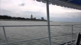 Батуми со стороны моря(Набережная грузинского города Батуми напоминает мини-Сингапур. Но не всем стройкам суждено достроиться..., 2015-07-09T12:52:03.000Z)