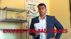 Excuses for Bad Grades - David Lopez