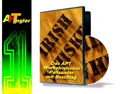 Airbrush Holz Palisander Wiskey Beschlag