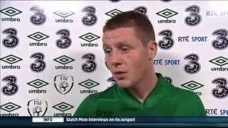Republic of Ireland v Kazakhstan - Post Match Interview - James McCarthy (15/10/13)