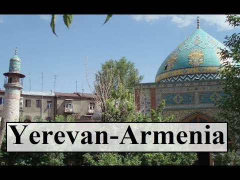 Armenia/Yerevan (Walking Tour-Blue Mosque) Part 8