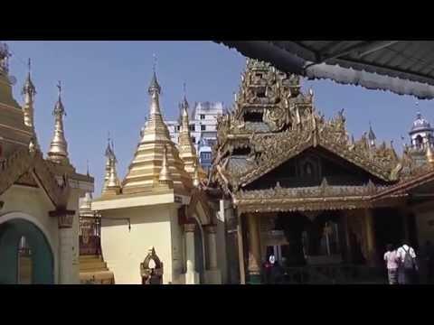 My Golden Years Travel - Downtown Yangon-Sule Pagoda-Chinatown