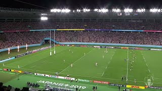 South Africa kick-off in the quarter-final