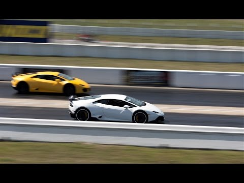 Lamborghini Aventador Vs Huracan Vs Gallardo Vs Murcielago Drag Race