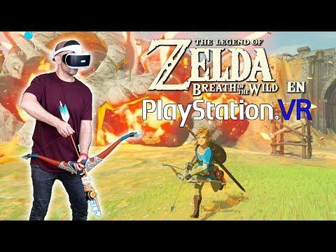 COMO JUGAR AL ZELDA BREATH OF THE WILD EN LAS PLAYSTATION VR