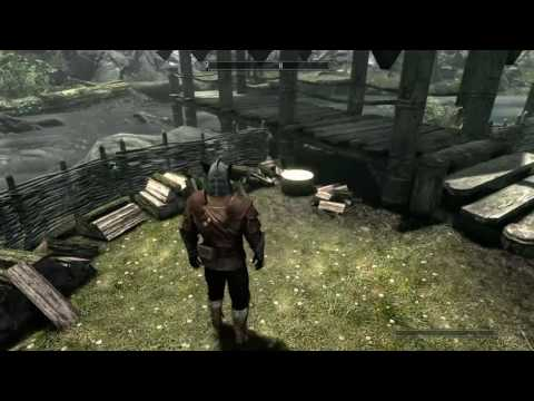 Skyrim How To Get Free Lumber/Sawn Logs