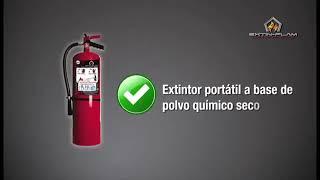 Procedimiento de Uso Extintor Halon/Chequeo