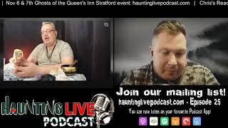 HauntingLIVE! Podcast #25 - Mini Readings by Chris Larocque with Native Oracle & Playing Cards.