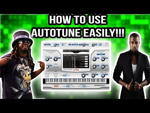 How To Use Autotune! Simple Tutorial!