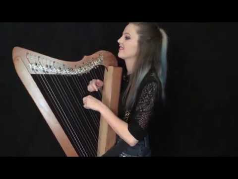 Born This Way - Electric Harp and Loop Pedal Cover by Sarah Lambourne