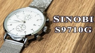 sinobi S9710G watch full review #180 / часы Sinobi 9710 обзорнастройка