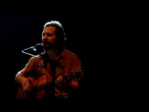 Eddie Vedder - The End  - Front Row! 9/26/09 HD Video