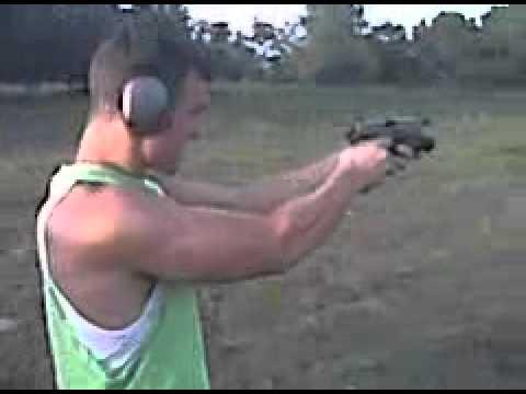 Shooting at my buddy