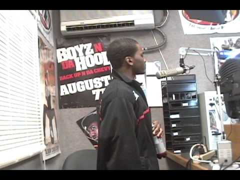 J.P. at Blazin' 102.3 radio in Tallahassee, Fl