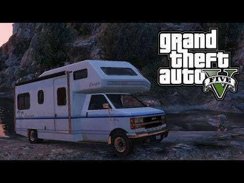 Camper Van Rv >> GTA 5 ONLINE : RARE VEHICLES SECRET (CAMPER VAN SPAWN LOCATION) - YouTube