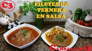 filetes de ternera en salsa 2 nominada a mejor receta de 2016 en youtube