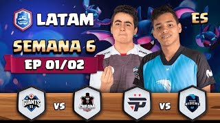 CRL LATAM: Giants Gaming vs Cream eSports | Pain Gaming vs Movistar Riders