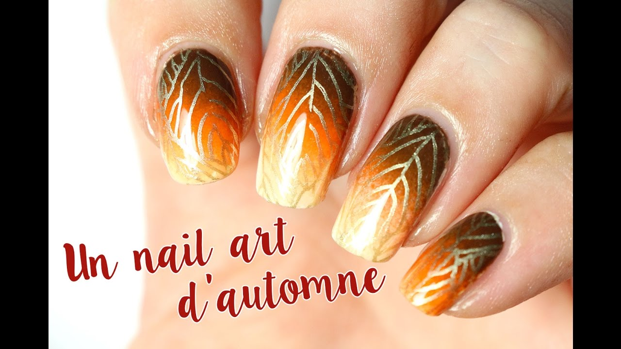 Nail art automne