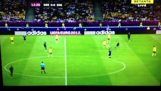Commentator calling Andy Carroll a Cunt; Sweden Vs England