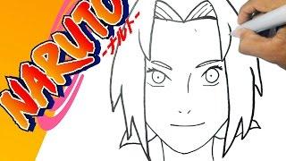 Como dibujar a  SAKURA - Naruto paso a paso | how to draw  SAKURA -  Naruto