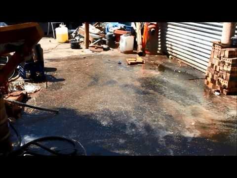 Waste oil spill quick and easy Clean up