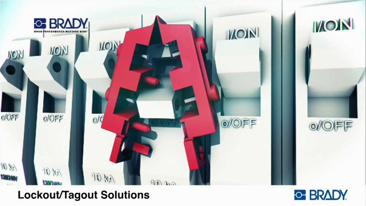 brady lockout tagout devices applications youtube - Lock Out Tag Out Kits