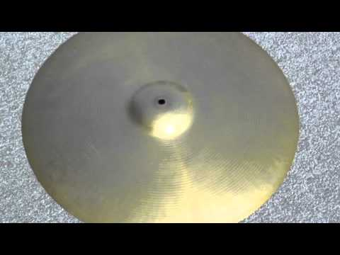 "19"" PAISTE FORMULA 602 - 2036 Grams (at STEBAL DRUMS)"