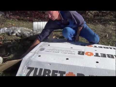 Как укладывать виноград на зиму в сибири