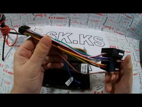 Разбираемся с распиновкой кабеля питания андроид магнитол Junsun