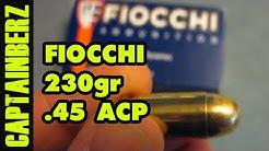 Fiocchi .45 ACP (230gr, FMJ)