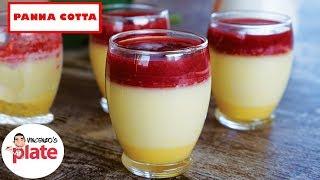 ULTIMA PANNA COTTA RECIPE  How to make Strawberry Panna Cotta with Lemon Cream