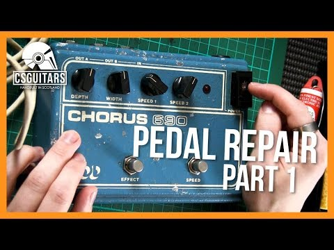 DOD Chorus 690 Pedal Repair - Part 1