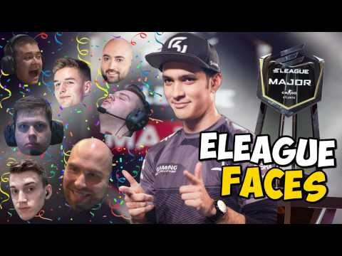 The Many Faces of the ELEAGUE Major!