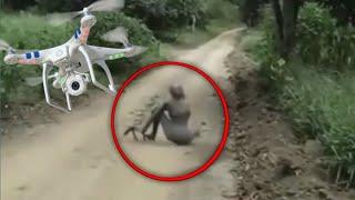 5 Video Penampakan makhluk aneh yang berhasil tertangkap kamera