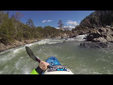 Kayak the Cossatot River in Southwest Arkansas