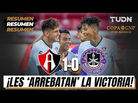 Resumen y goles | Atlas 1-0 Mazatlán | Copa GNP por México | TUDN