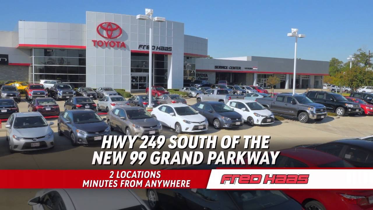 Superb Fred Haas Toyota World   Annual Clearance Event   Tundra   YouTube