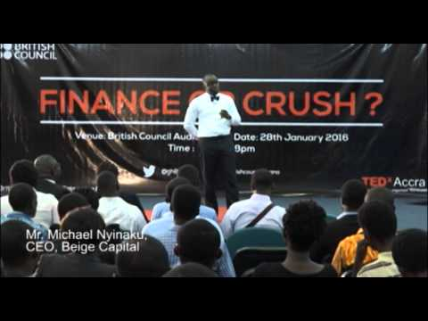 Michael Nyinaku, CEO of Beige Capital speaking on growing your business finances
