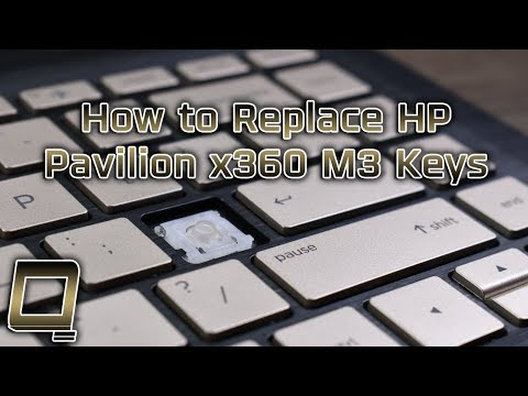 How To Replace HP Pavilion X360 M3 Laptop Keys