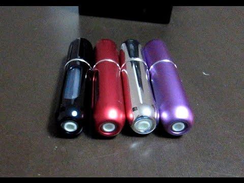 Travel Perfume Atomizer Spray Bottles