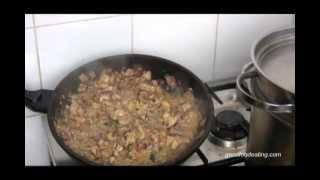 Chicken Carbonara Recipe. Paleo, Low Carb & Dairy Free