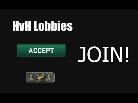HvH Lobby Steam Group